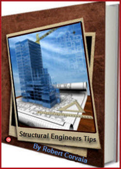 Structural Engineers Tips E-Book By Robert Covaia